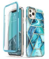 i-Blason Cosmo Series Case for iPhone 11 Pro Max 2019 Release, Slim Full-Body Stylish Protective Case with Built-in Screen Protector (Ocean)