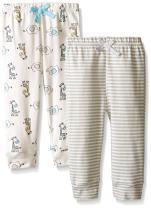 BON BEBE Unisex Baby Best Friends Assorted Pant Set (Pack of 2)