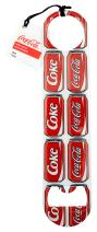"Tablecraft Coca-Cola Bottle Opener, 7.125"" x 1.625"", Coke Cans"