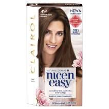 Clairol Nice 'N Easy Hair Color 4W Natural Dark Mocha Brown 1 Kit