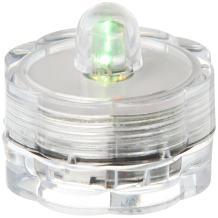 Bluedot Trading Submersible Tea Lights, Multicolor, 12-Pack