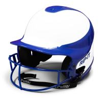 RIP-IT Vision Pro Softball Helmet ft. Blackout Technology, 6 - 6 7/8-Inch