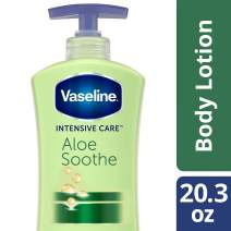 Vaseline Intensive Care Body Lotion, Aloe Soothe, 20.3 Fl Oz (Pack of 1)