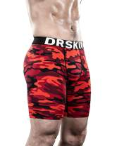 DRSKIN Men's 1 or 3 Pack Compression Shorts Sports Running Cool Dry Tights Pants Leggings Active Baselayer Rashguard