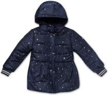 Nautica Girls' Puffer Coat with Removable Hood
