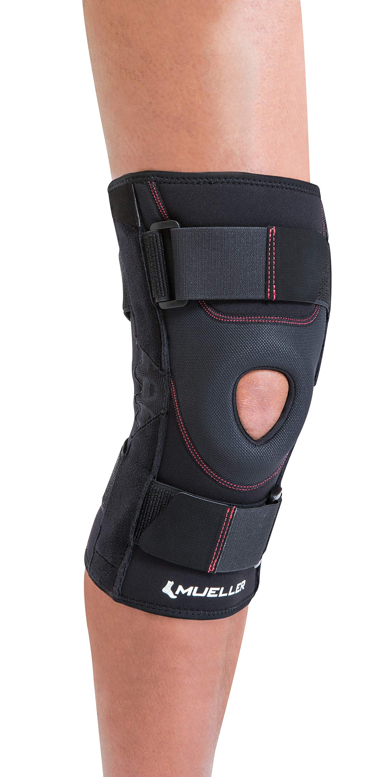 Mueller Patella Knee Stabilizer Brace, Black, X-Large