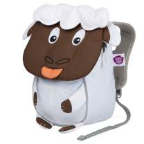 Affenzahn Toddler Baby Small Sustainable Backpack - Age 1-3 for Boys and Girls - Sheep - White