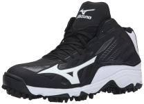 Mizuno Men's 9 Spike ADV Erupt 3 Multi-Sport Mid-Cut Softball Cleat