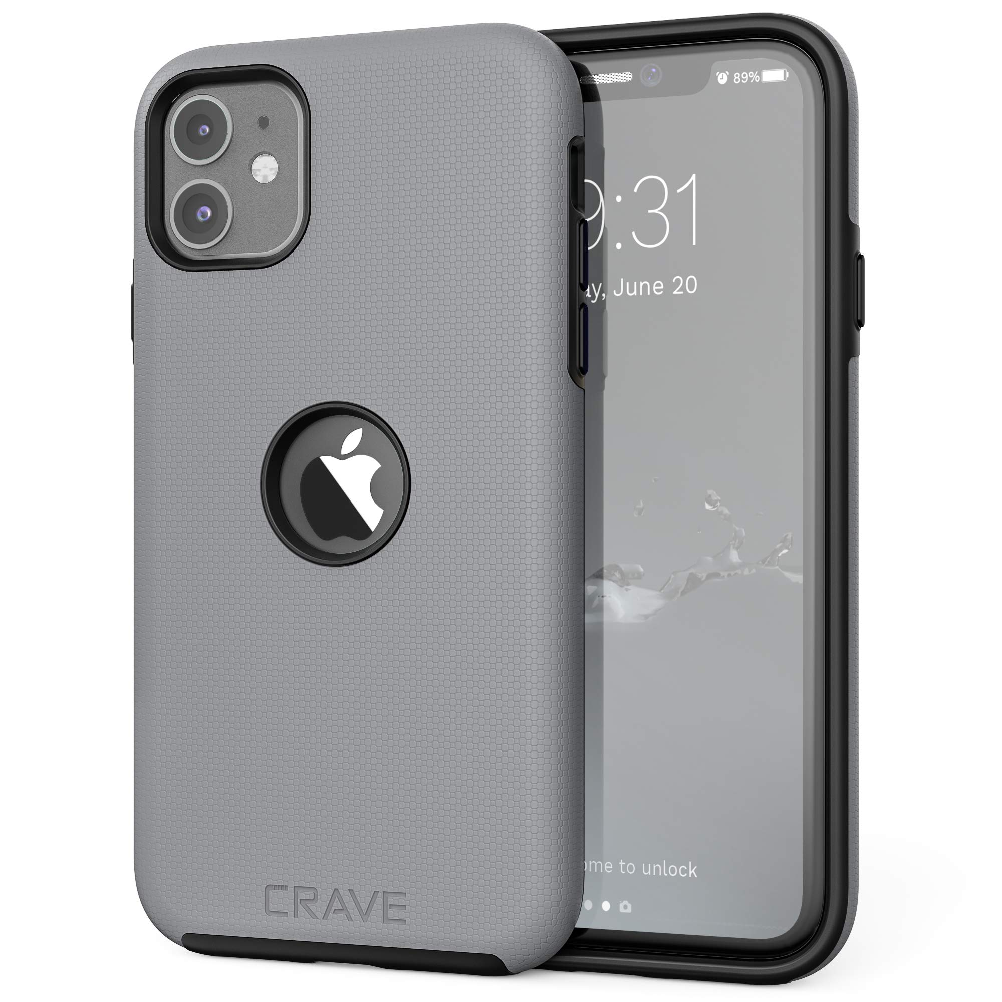 Crave iPhone 11 Case, Dual Guard Protection Series Case for iPhone 11 - Slate