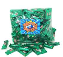 CrazyOutlet KitKat Crisp Wafers Milk Chocolate Miniature Bars Green Foil, st. Patrick's Day Candy Bulk 2 Lbs
