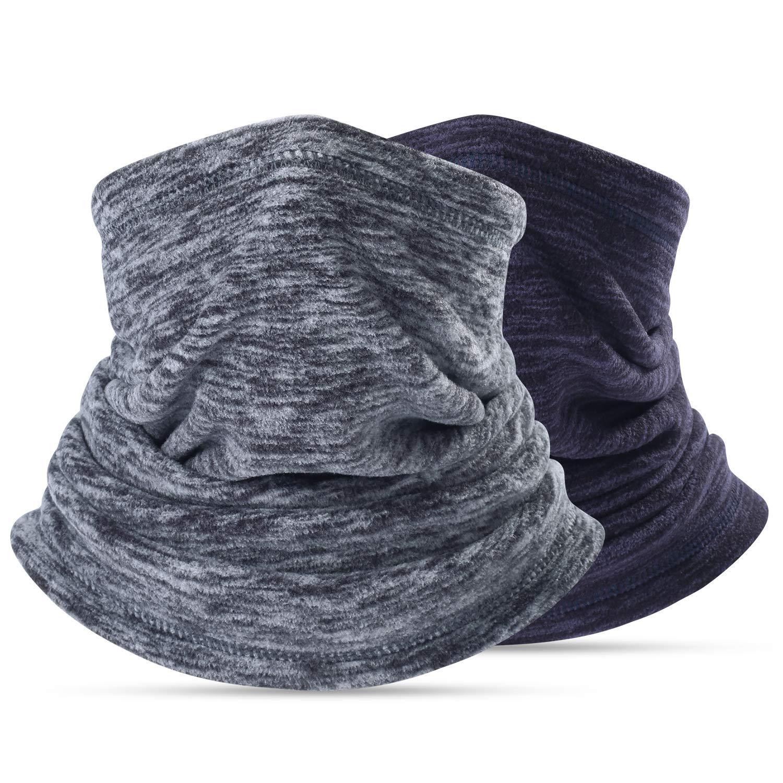 Neck Warmer Gaiter, Polar Fleece Ski Face Mask Cover for Winter Cold Weather & Keep Warm