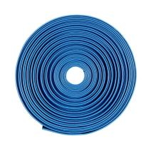 "uxcell Heat Shrink Tubing 1/2""(12mm) Dia 19mm Flat Width 5m 2:1 Heat Shrink Tube Wire Wrap Blue"