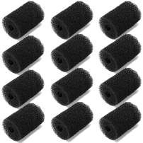 Pool Sweep Hose Tail Scrubber Replacement for Polaris, CoiTek High Density 12 Pack Pool Cleaner Sweep Hose Scrubber Replacement Fits for Polaris 180, 280, 360, 380, 480, 3900 Pool Filter Cleaner Parts