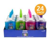 BAZIC 5 Oz. (147 mL) Washable Clear Color School Glue, 24-Pack