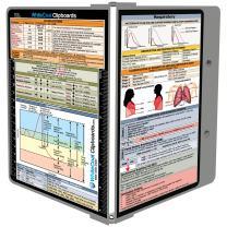WhiteCoat Clipboard- Sports Silver - Respiratory Edition