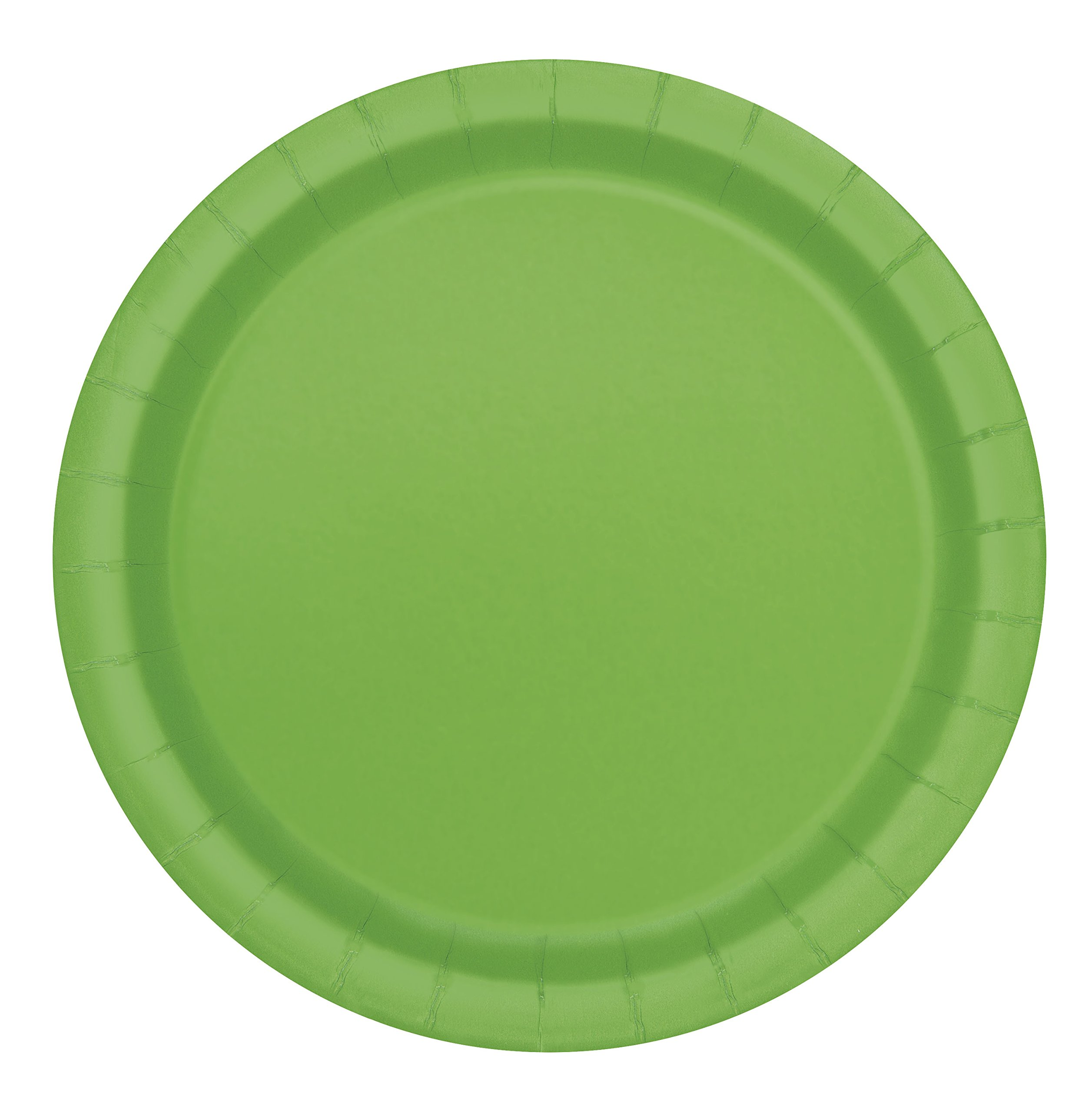 Lime Green Paper Plates, 8ct