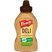 French's Horseradish Mustard, Spicy Mustard, Hot Flavor, Gluten Free, 12 oz keep as is prime pantry not in stock