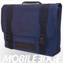 Mobile Edge Laptop Eco Messenger Eco-Friendly, 17.3 Inch Cotton Canvas Blue for Men, Women, Business, Student MECME3
