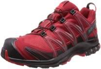Salomon Men's XA Pro 3D GTX Running Trail Shoes Red Dahlia/Black/Barbados Cherry 7.5