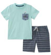 Nautica Baby Boys' Tee with Shorts