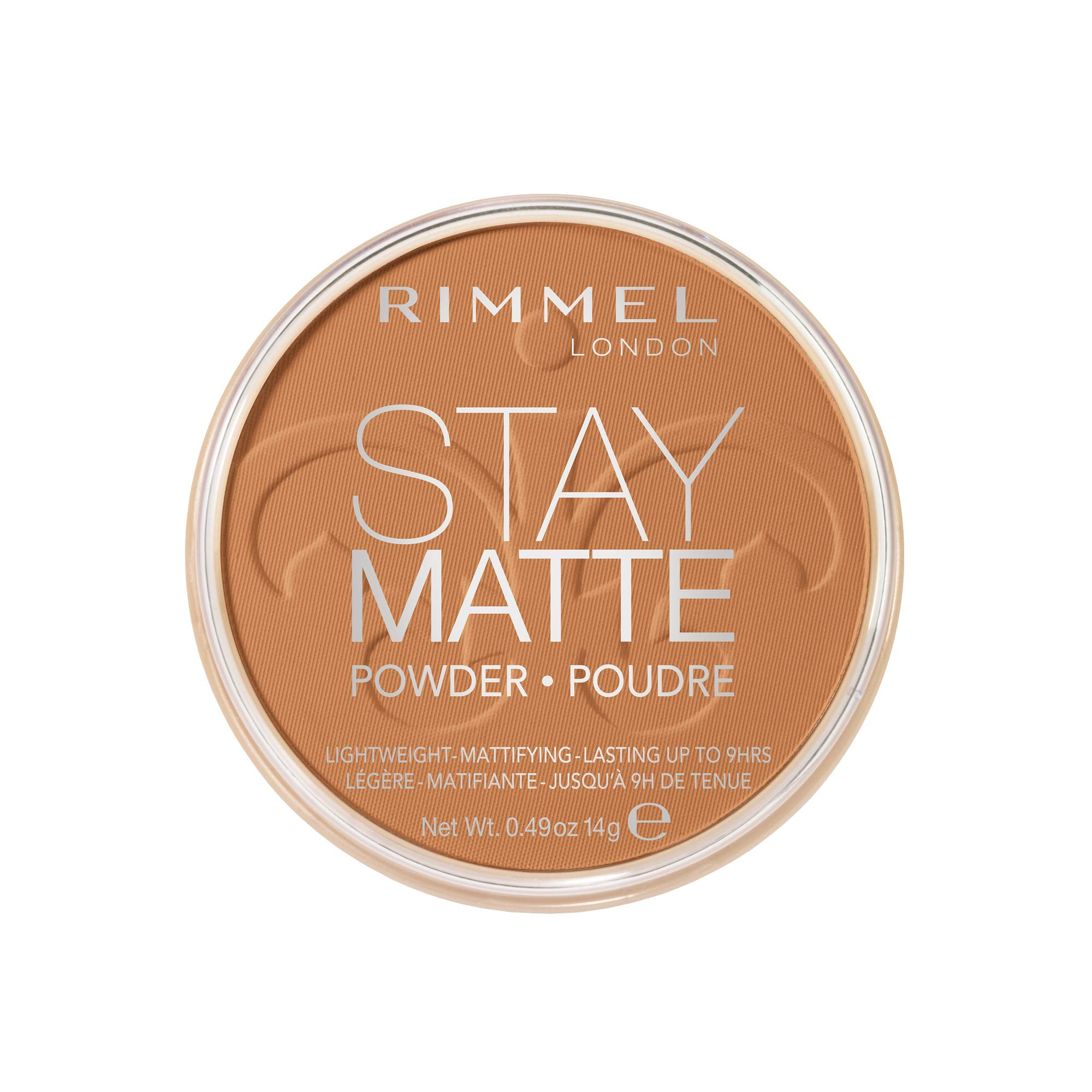 Stay Matte Pressed Powder in 025 Toffee, 0.49 Ounce (Pack of 1)