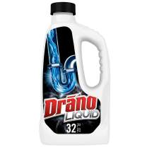 Drano Liquid Clog Remover, 32.0 Fluid Ounce, 12 Count