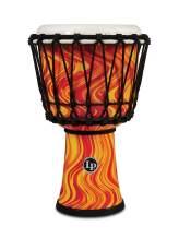 Latin Percussion Djembe, Orange Marble, 7-inch (LP1607OM)
