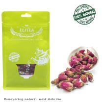 ELITEA 5.3oz Dried Rose Buds Rosebud Flower Herb Loose Leaf Tea 150g 100% Fragrant Natural Healthy Herbal Tea