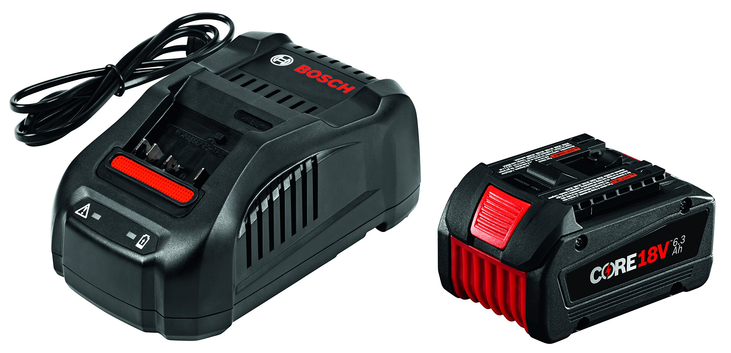 Bosch 18V Starter Kit with CORE18V Battery and Charger GXS18V-01N14,Black
