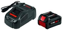 Bosch 18V Starter Kit with CORE18V Battery and Charger GXS18V-01N14,Black