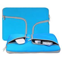 Laptop Sleeve Case 14-15.4 Inch,Egiant Water Repellent Protective Bag Compatible Mac Pro 15 Retina/Touch Bar A1707/MacBook Pro 16 A2141,Chromebook 14,Stream 14, 14.1 Inch Computer Notebook Cases-Blue