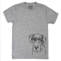 Inkopious Titus The Great Dane Triblend T-Shirt