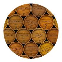 Thirstystone Drink Coaster Set, Wine Barrels