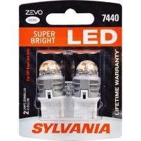 SYLVANIA ZEVO 7440 T20 White LED Bulb, (Contains 2 Bulbs)