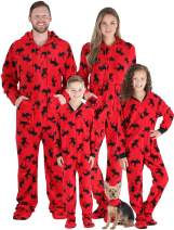 SleepytimePJs Matching Family Christmas Pajama Sets, Red Moose Onesie, Kids (STM17-3053-K-4T)