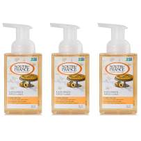 Glazed Apricots - South of France Natural Body Care 8oz Foaming Hand Wash (3 Bottles)