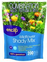 Wildflower Shady 4-in-1 Mix from Encap - 4-in-1 Mix, Annual and Perennial Seeds, Open-Pollinated, Non-GMO, with Instructions for Planting a Beautiful Garden