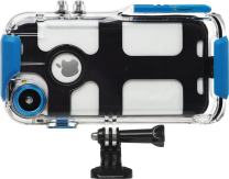 Pro Shot Touch - Waterproof Case Compatible with iPhone 8 and 7, and Compatible with All GoPro Mounts । Perfect Case for Diving Swimming Snorkel (12-Month Protection Plan for Your iPhone)