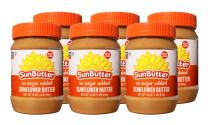 SunButter Natural No Sugar Added Sunflower Butter with hint of salt (Pack of 6)
