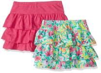 Amazon Brand - Spotted Zebra Girls Knit Ruffle Scooter Skirts