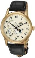 """Orient Men's """"Sun and Moon Version 4"""" Japanese Automatic Stainless Steel Watch"""