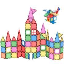 NAVESTAR 3D Magnetic Building Set,Kids Magnet Toys Building Blocks Tiles Creativity Set Educational Toys for Kids Children (70pcs)