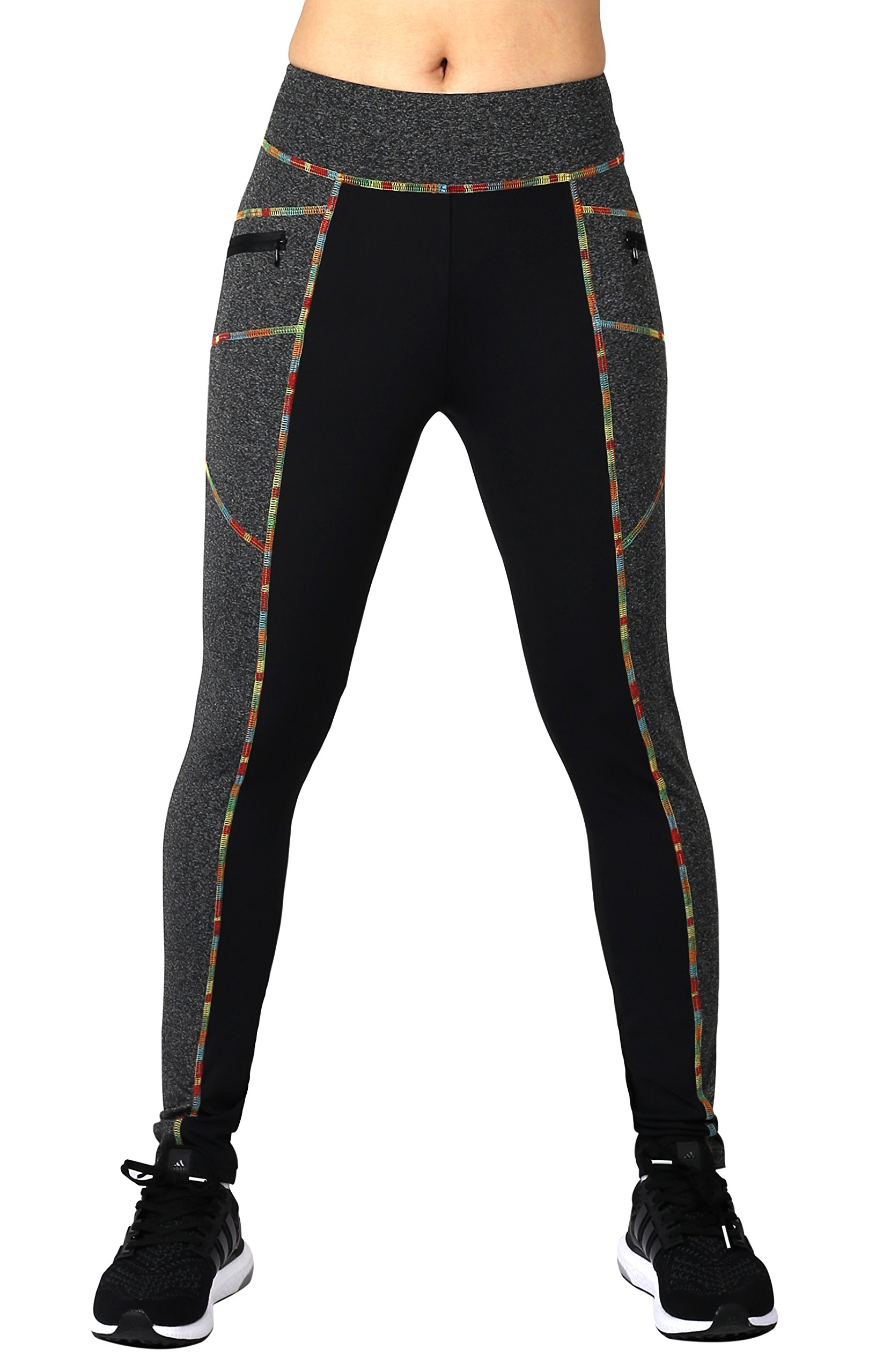Neonysweets Womens Workout Legging Running Yoga Pants Sports Tights Trousers