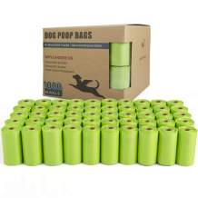 TwoEar Dog Poop Bags Unscented, Extra Thick Leak Proof Dog Waste Bags, Pet Poop Bag, Doggy Bags, 1000 Count (50b)