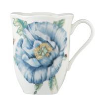 Lenox Blue Butterfly Meadow Mug, 0.45 LB