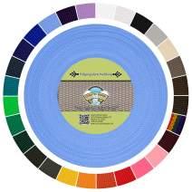 Country Brook Design - Polypropylene Webbing (Baby Blue, 50 Yards, 1 Inch)