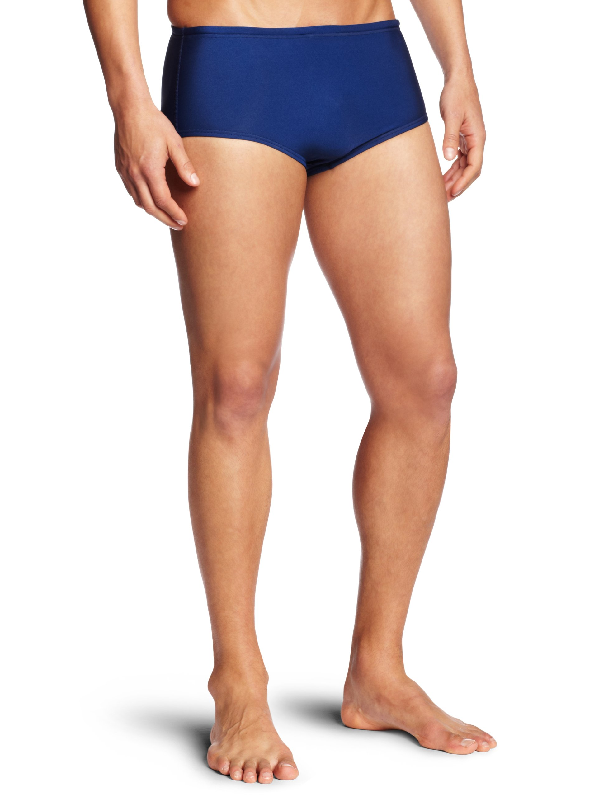Speedo Mens Swimsuit Brief Powerflex Eco Dive Solid