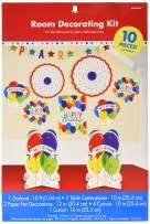 Amscan 241370 Party Décor, Multi Size, Multicolor