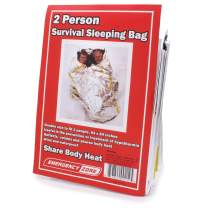 Emergency Zone 2 Person Reflective Sleeping Bag. Available in 1, 2, 3, 4, 5, and 48 Packs