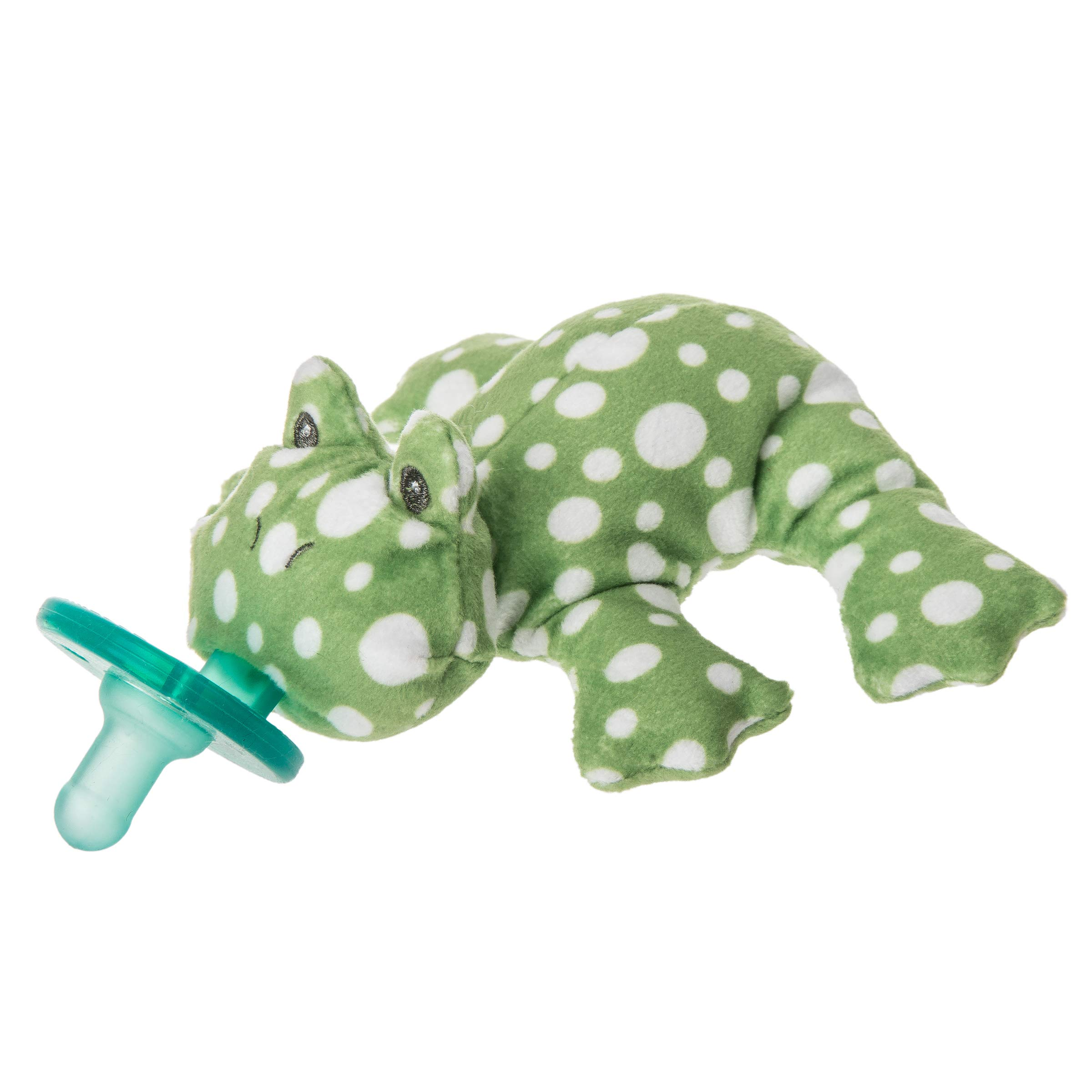 Mary Meyer WubbaNub Soft Toy and Infant Pacifier, Fizzy Frog